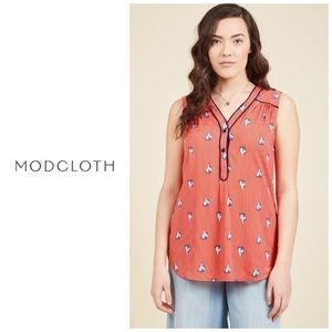 ModCloth Sailboat Tank